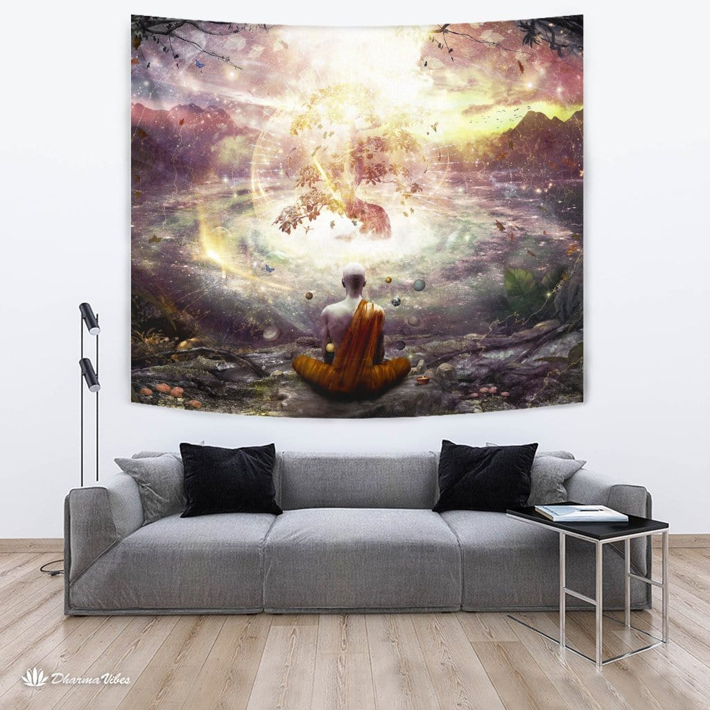 Nature and Time by Cameron Gray Visionary Tapestry