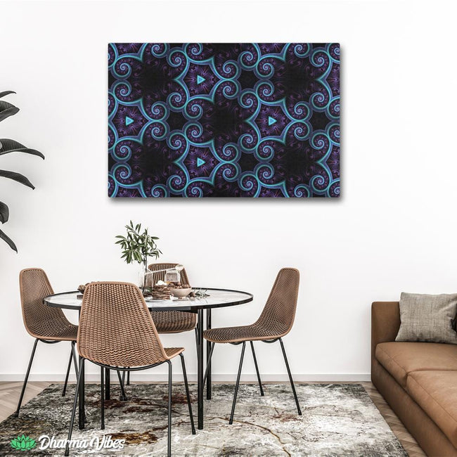 Night Session Visions by Cameron Gray 1-Piece Canvas