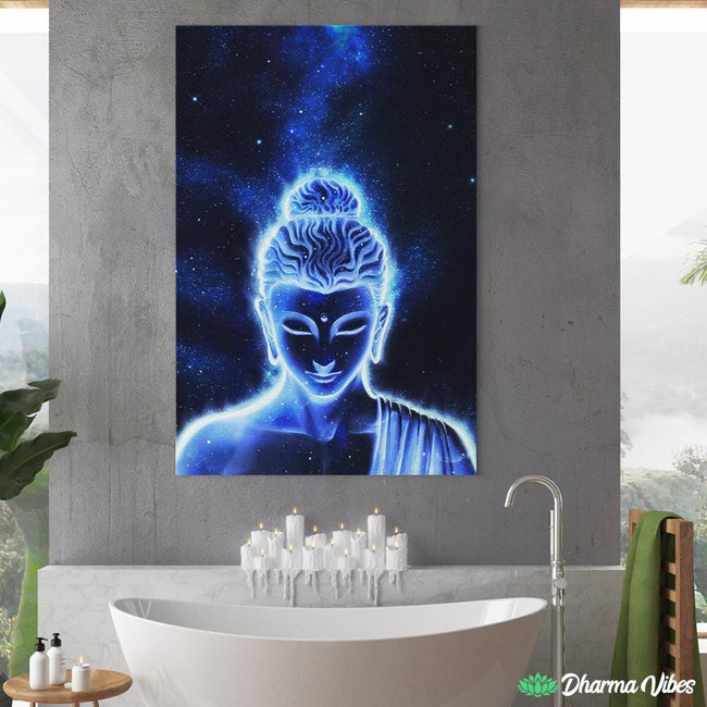 Nocturnal Buddha FULL by McAshe 1-Piece Canvas