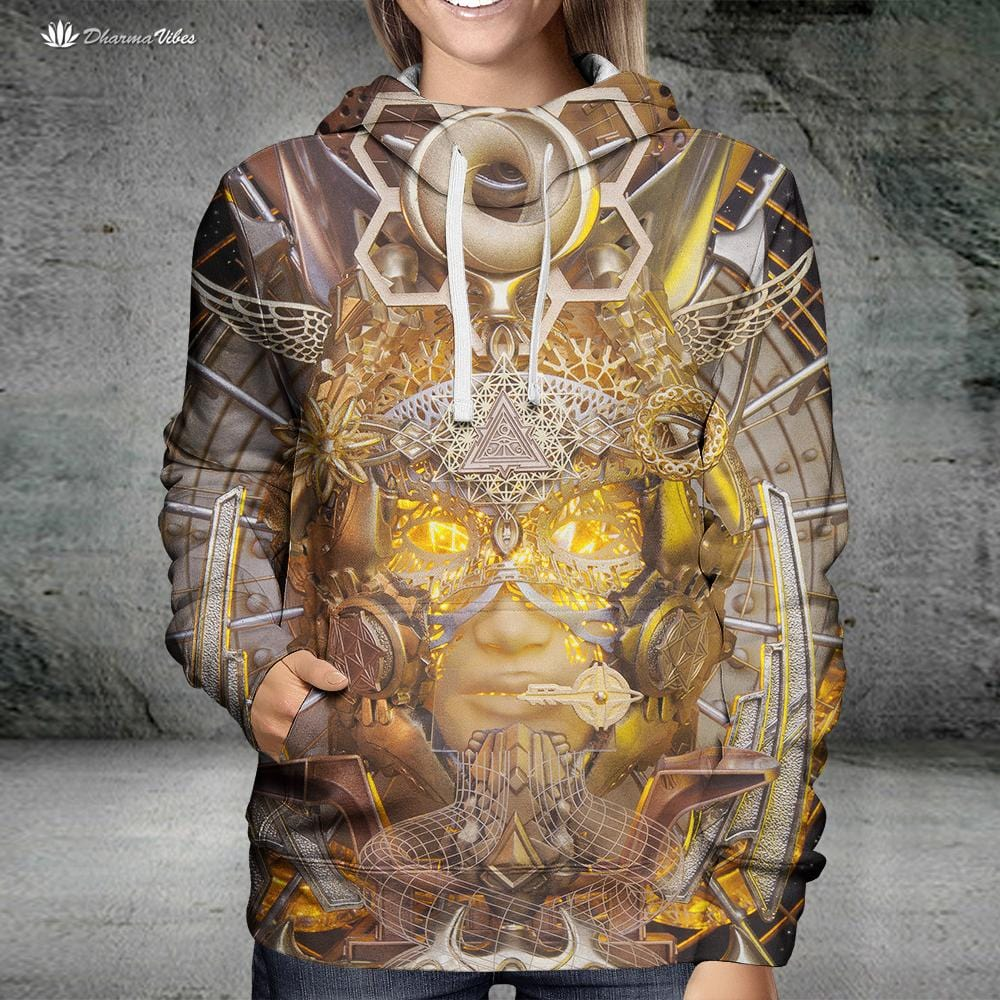 Open Ancient Eyes by LightWizard Visionary Hoodie