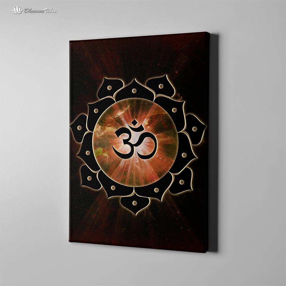 OM by McAshe 1-Piece Canvas Art