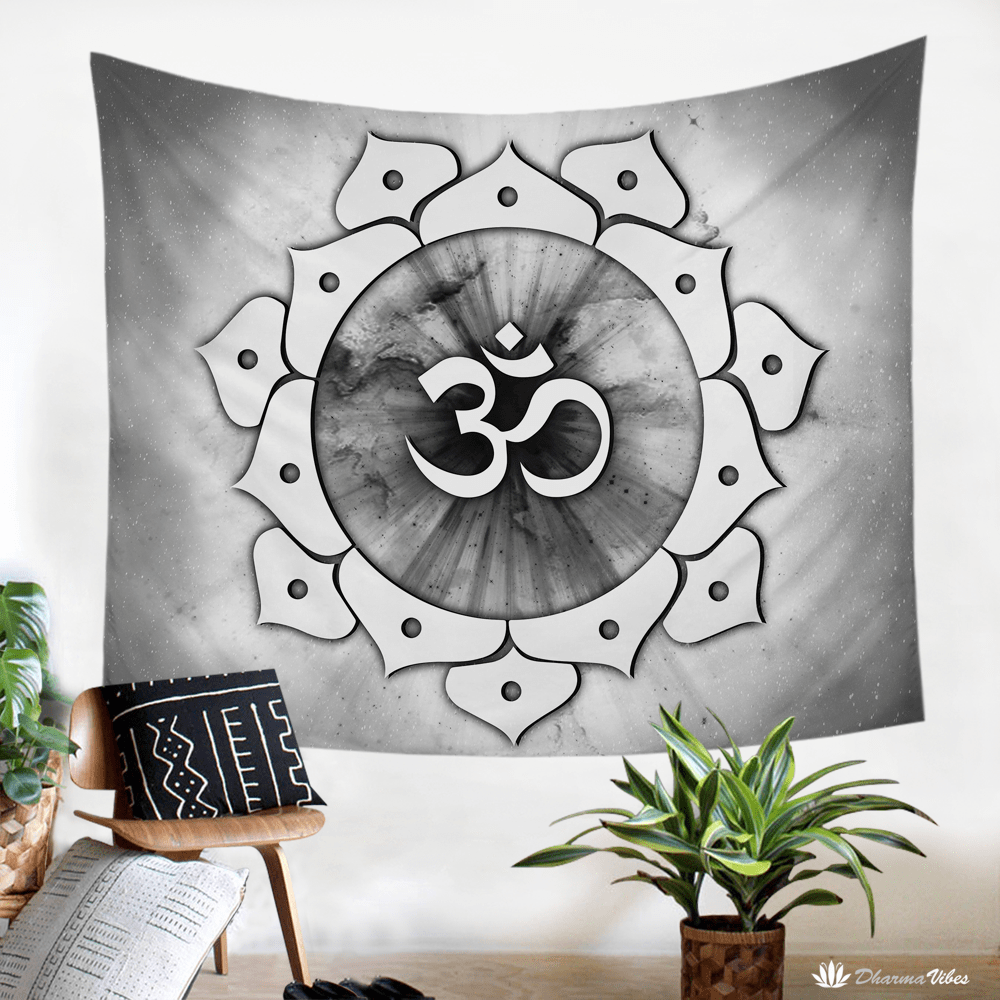 OM Divine by McAshe Tapestry