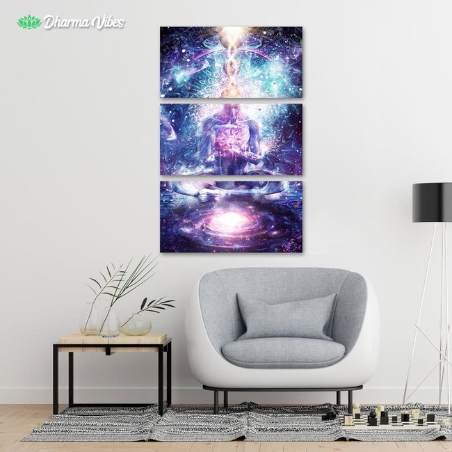 On The Edge Of Harmony by Cameron Gray 3-Piece Canvas