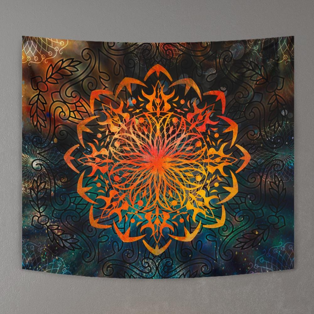 Ornament mandala by McAshe Tapestry