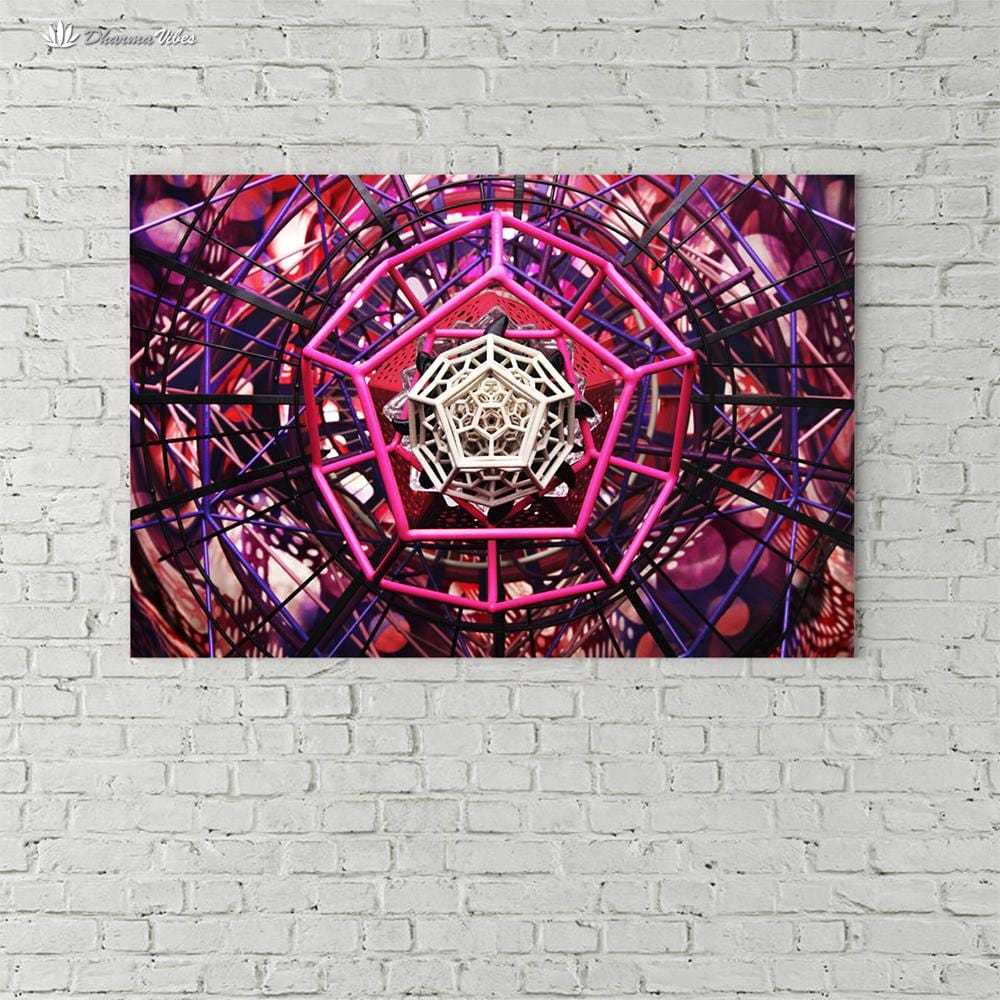 Pinktagon by LightWizard Visionary 1-Piece Canvas