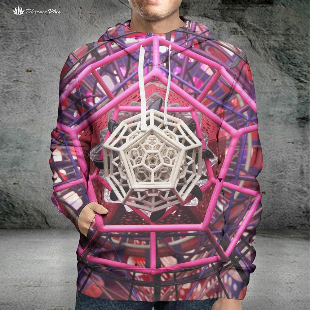 Pinktagon by LightWizard Visionary Hoodie