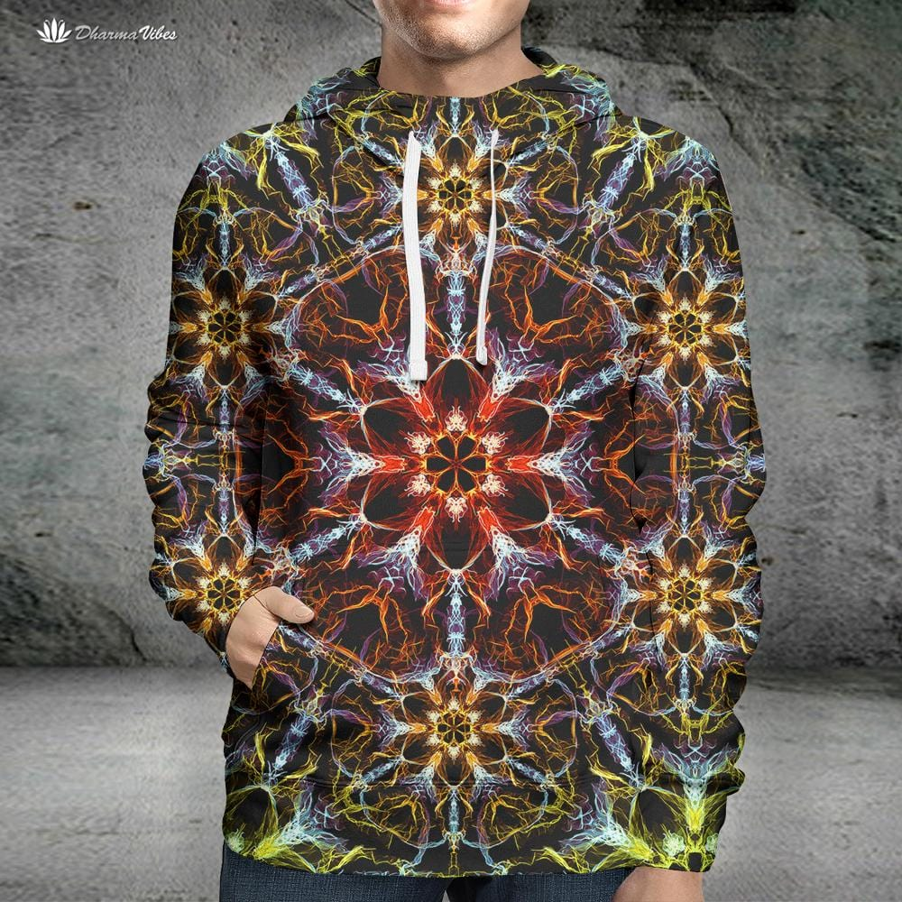 Psyched by YantrArt Design Psychedelic Hoodie