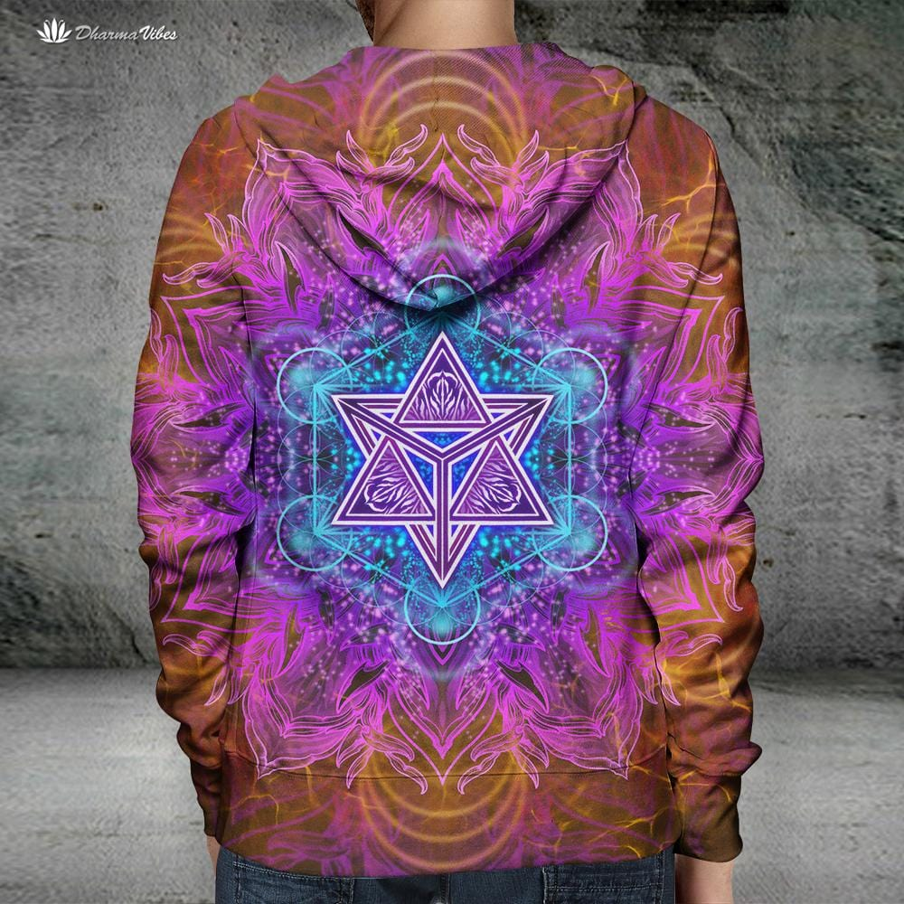 PSIQUE PATH by YantrArt Design Hoodie