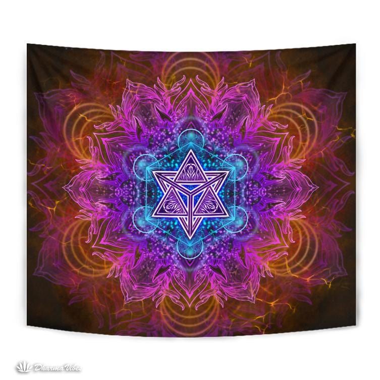 PSIQUE PATH by YantrArt Design Tapestry