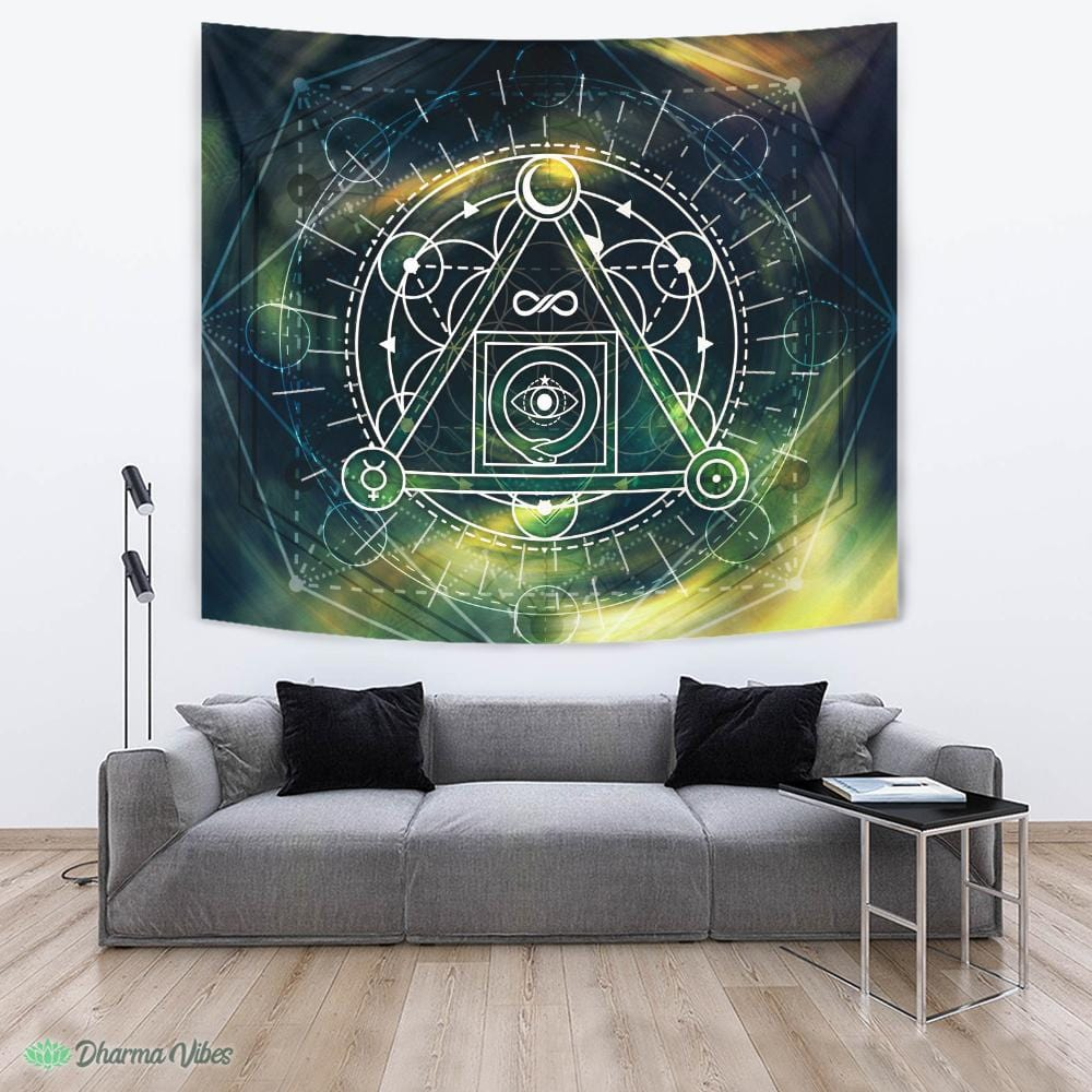 Philosopher Stone by McAshe Tapestry
