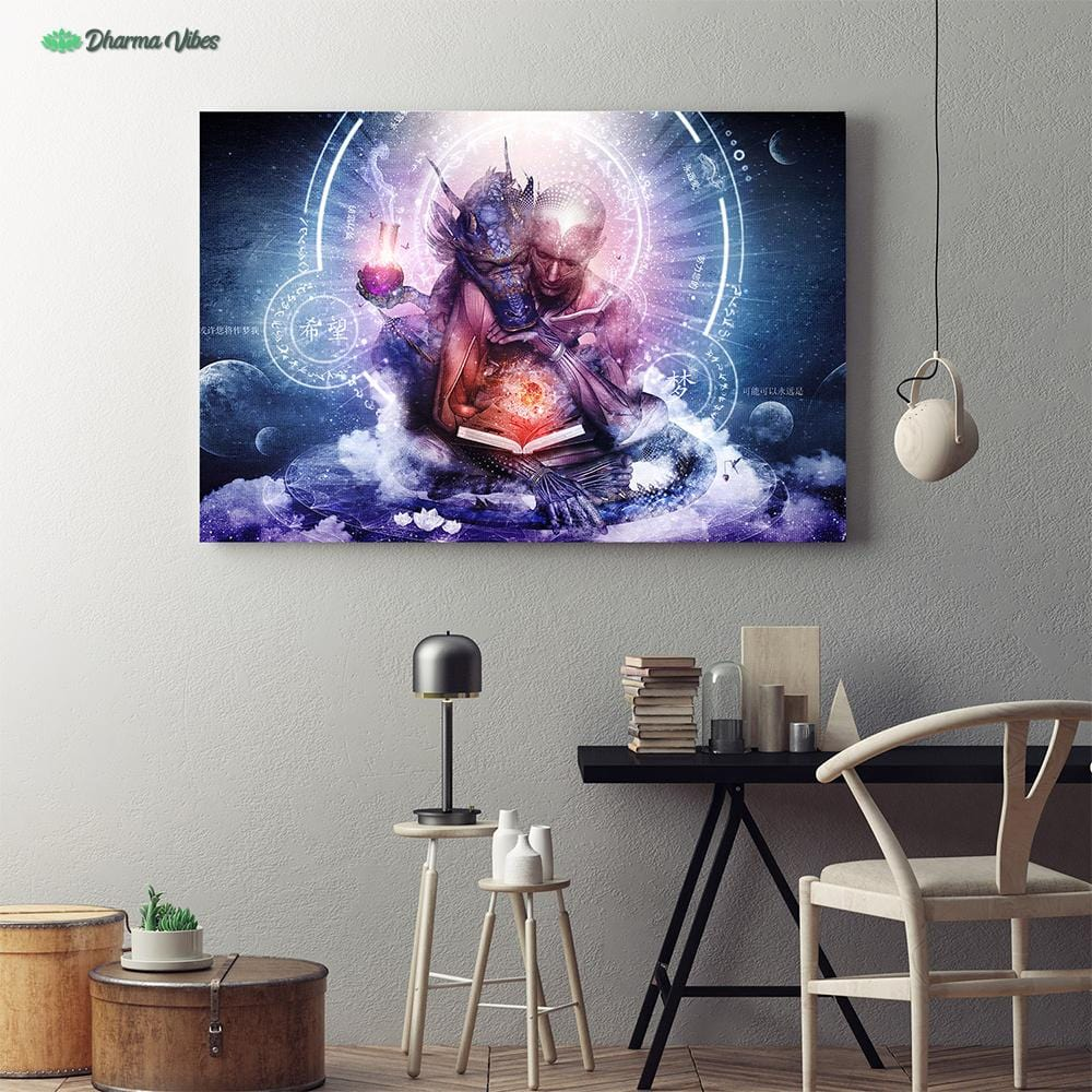 Perhaps The Dreams Are of Soulmates by Cameron Gray 1-Piece Canvas