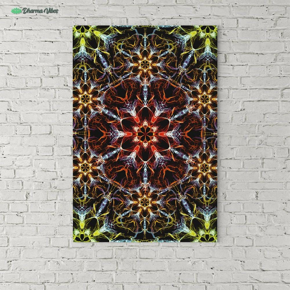 Psyched by YantrArt Design 1-Piece Canvas