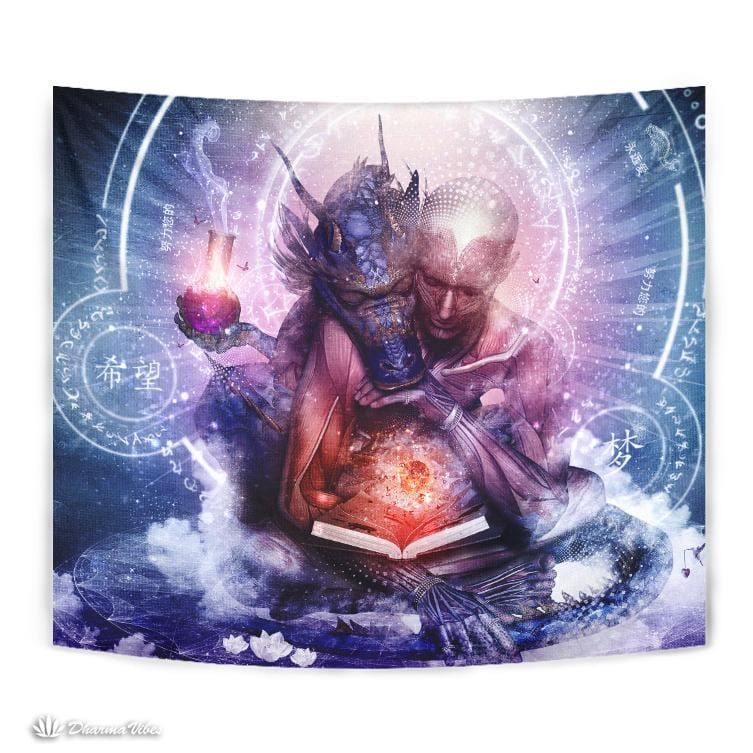 Perhaps the Dreams Are of Soulmates by Cameron Gray Visionary Tapestry