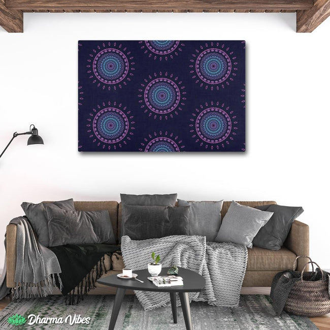 Psy Vibes 3 by Cameron Gray 1-Piece Canvas