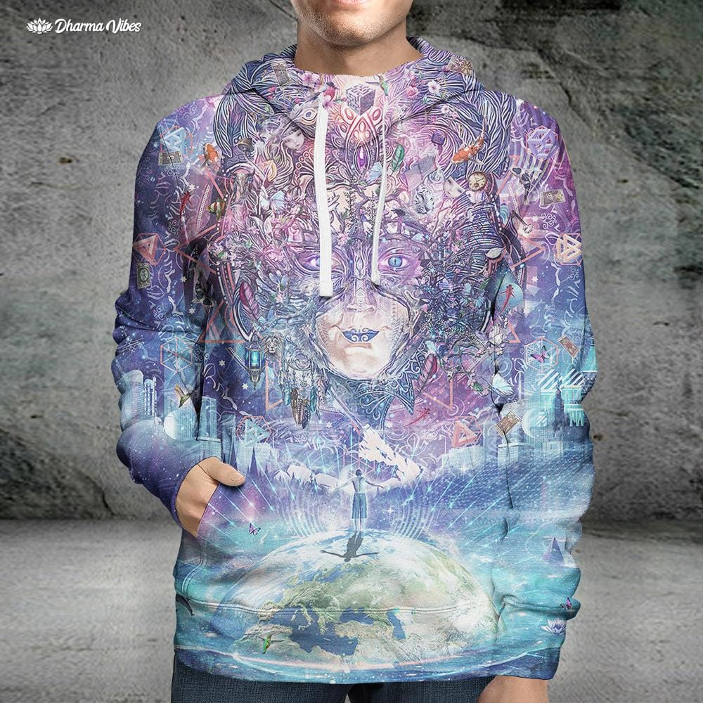 Quest for the Peak Experience by Cameron Gray Hoodie