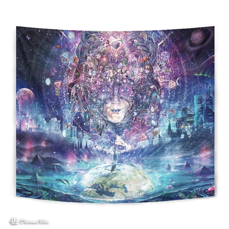 Quest for the Peak Experience by Cameron Gray Visionary Tapestry