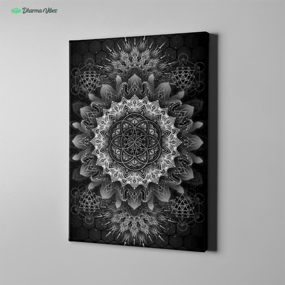 Raising Black by YantrArt Design 1-Piece Canvas