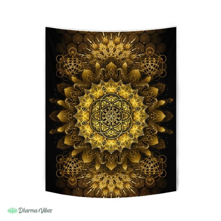 Raising Gold by YantrArt Design Tapestry