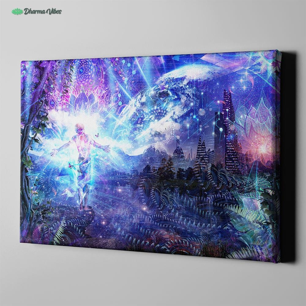 Ritual Night Stars by Cameron Gray 1-Piece Canvas