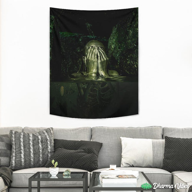 Radioactive water by Milos Karanovic Tapestry