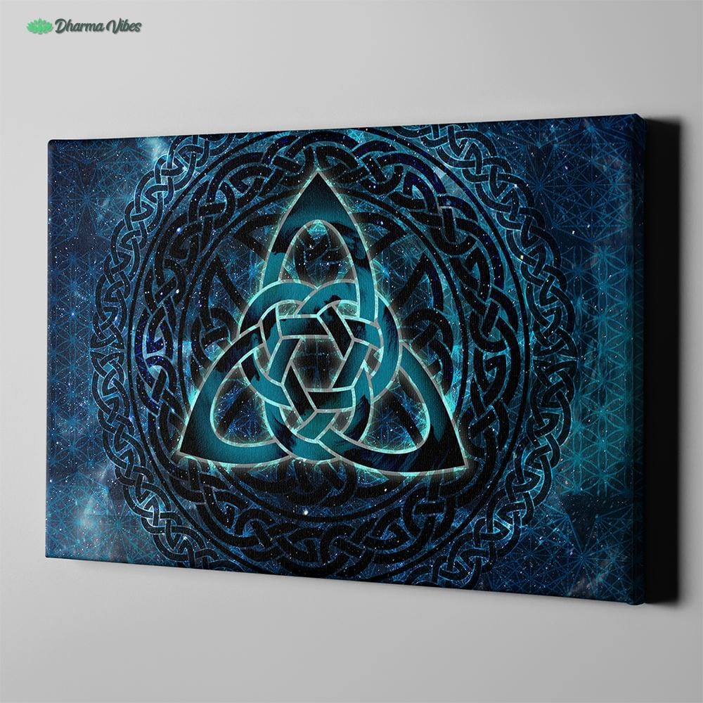 Seed of Life Celtic by McAshe 1-Piece Canvas