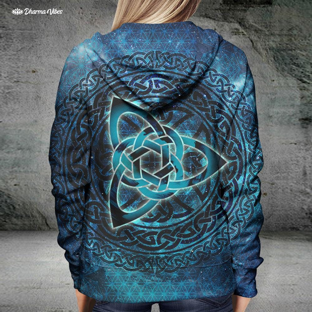 Seed of Life Celtic by McAshe Hoodie