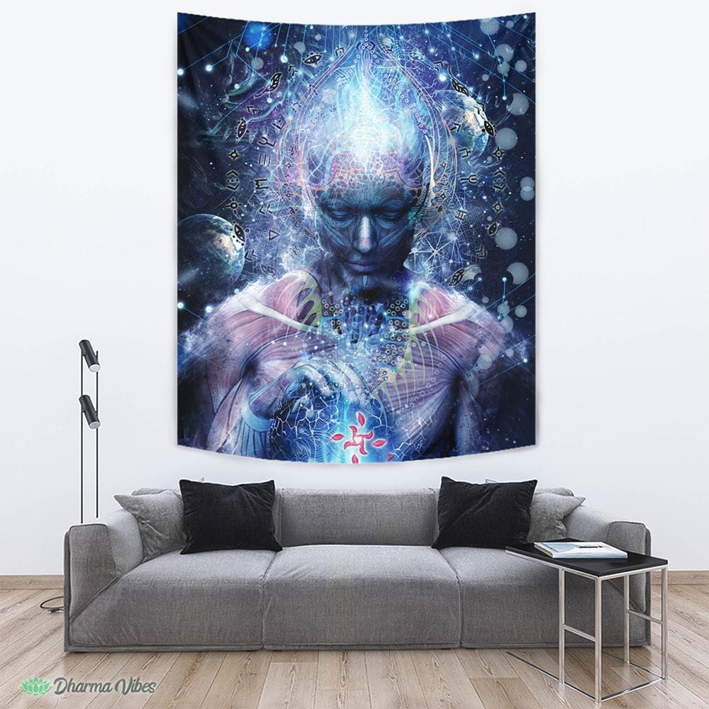Silence Seekers by Cameron Gray Tapestry
