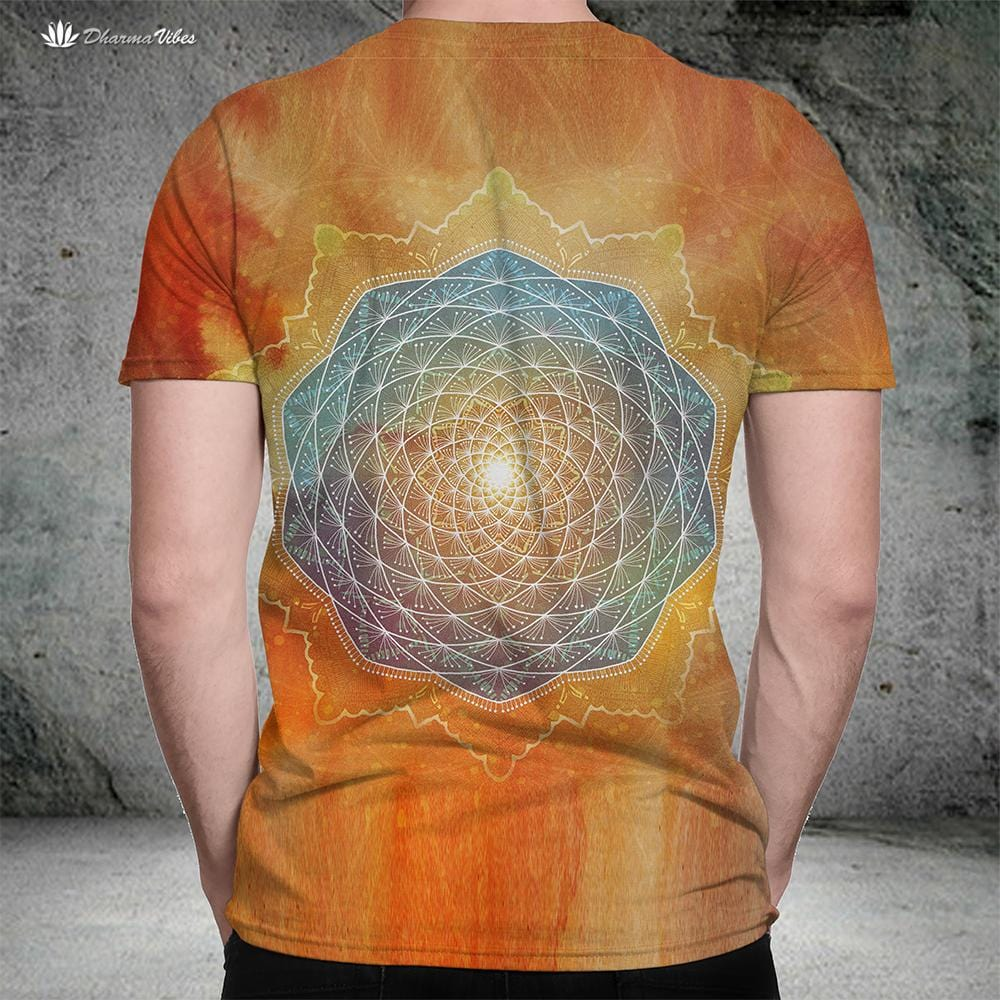 Starlight Mandala by McAshe T-Shirt
