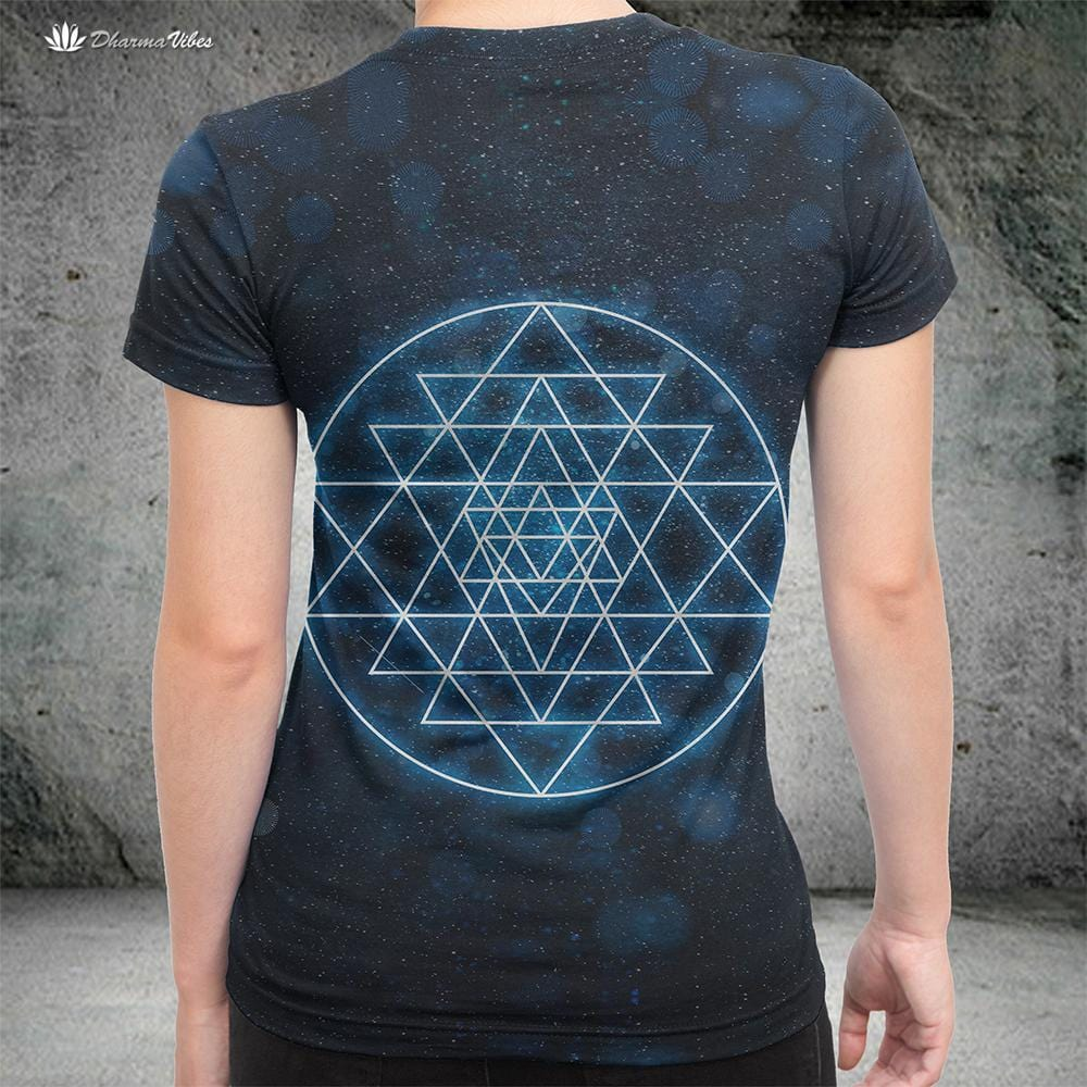 Sri Yantra Sacred Geometry by McAshe Shirt