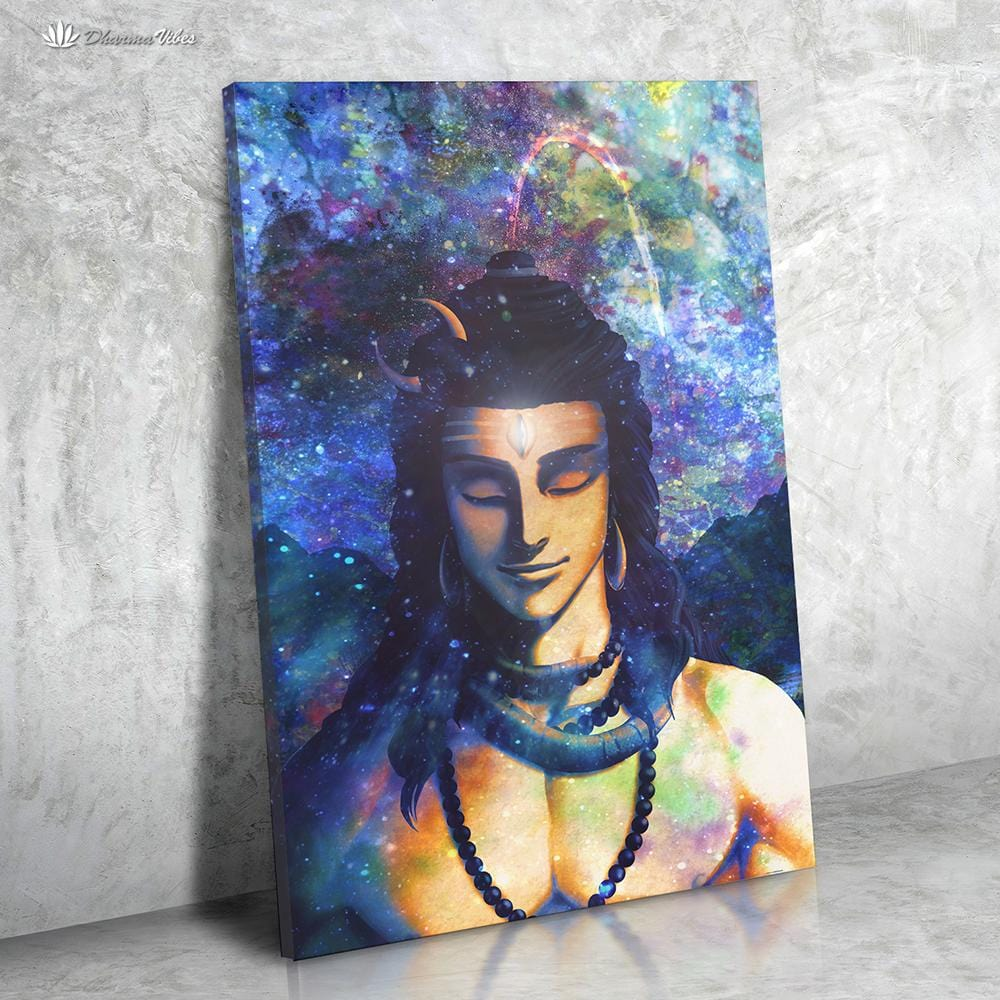 Shiva by McAshe 1-Piece Canvas