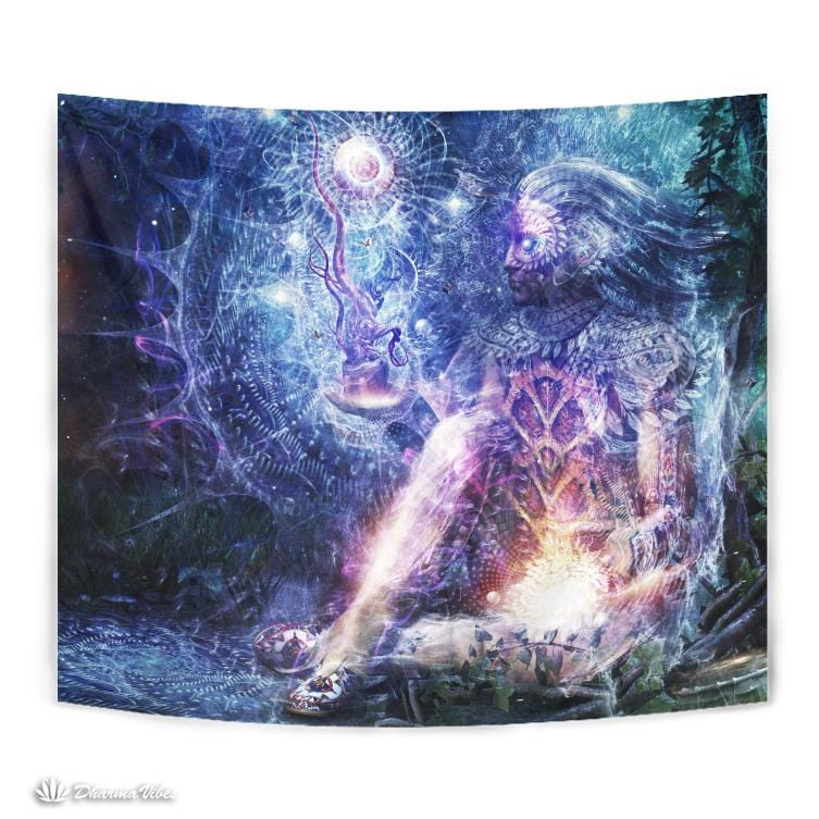 Shoulders and Giants by Cameron Gray Visionary Tapestry
