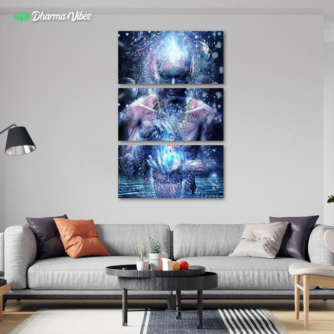 Silence Seekers by Cameron Gray 3-Piece Canvas