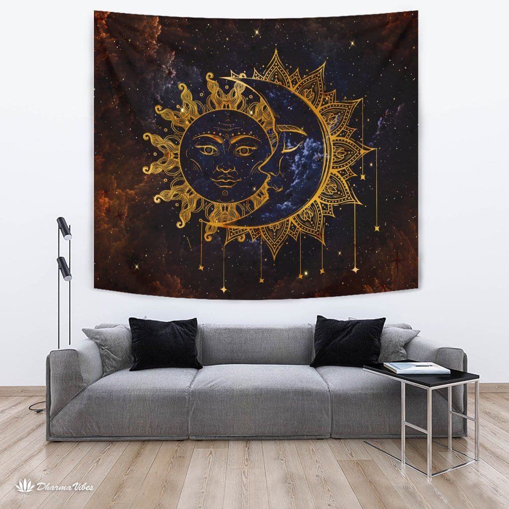 Sun and Moon by McAshe Tapestry