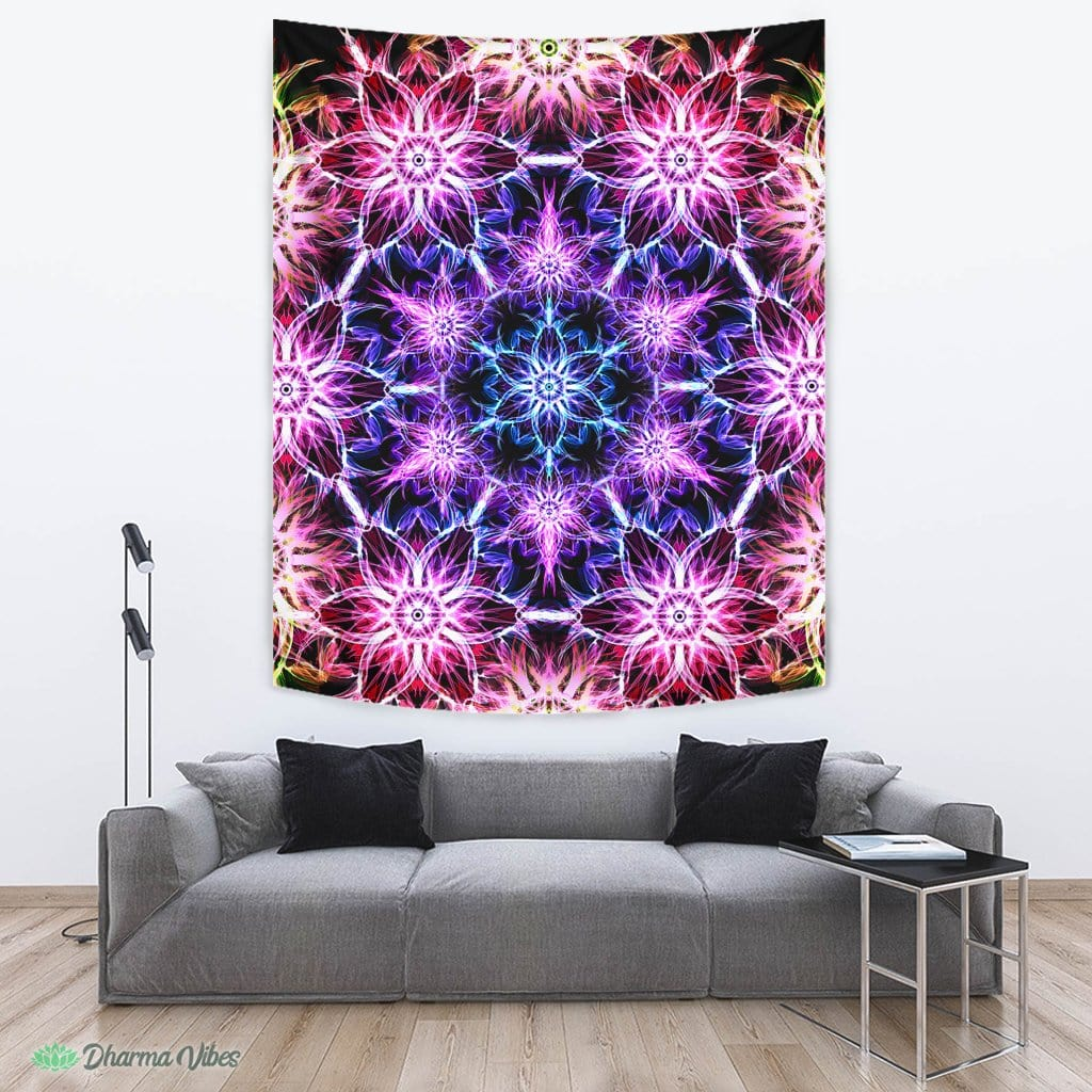Tripped V1 by YantrArt Design Tapestry