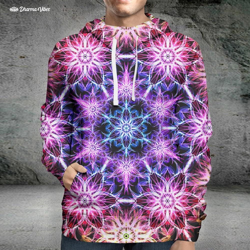 TRIPPED V1 by YantrArt Design Hoodie