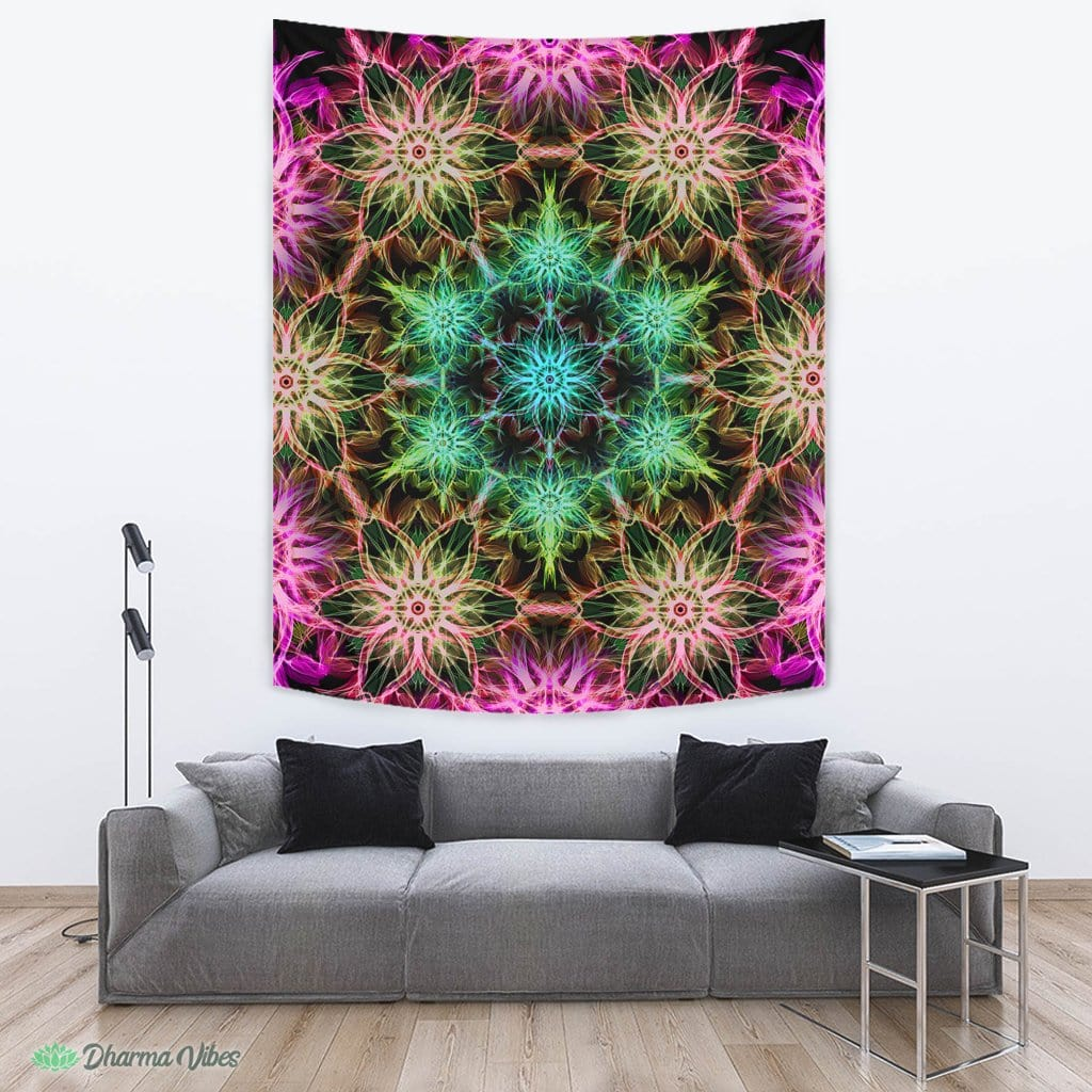 Tripped V2 by YantrArt Design Tapestry