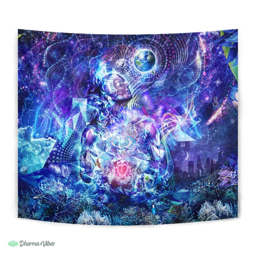 Transcension V2 by Cameron Gray Visionary Tapestry