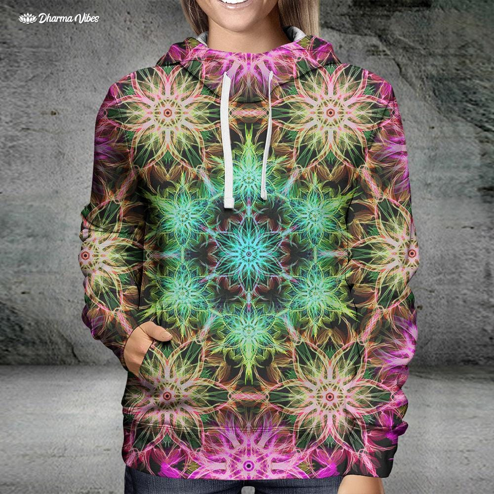 TRIPPED V2 by YantrArt Design Hoodie