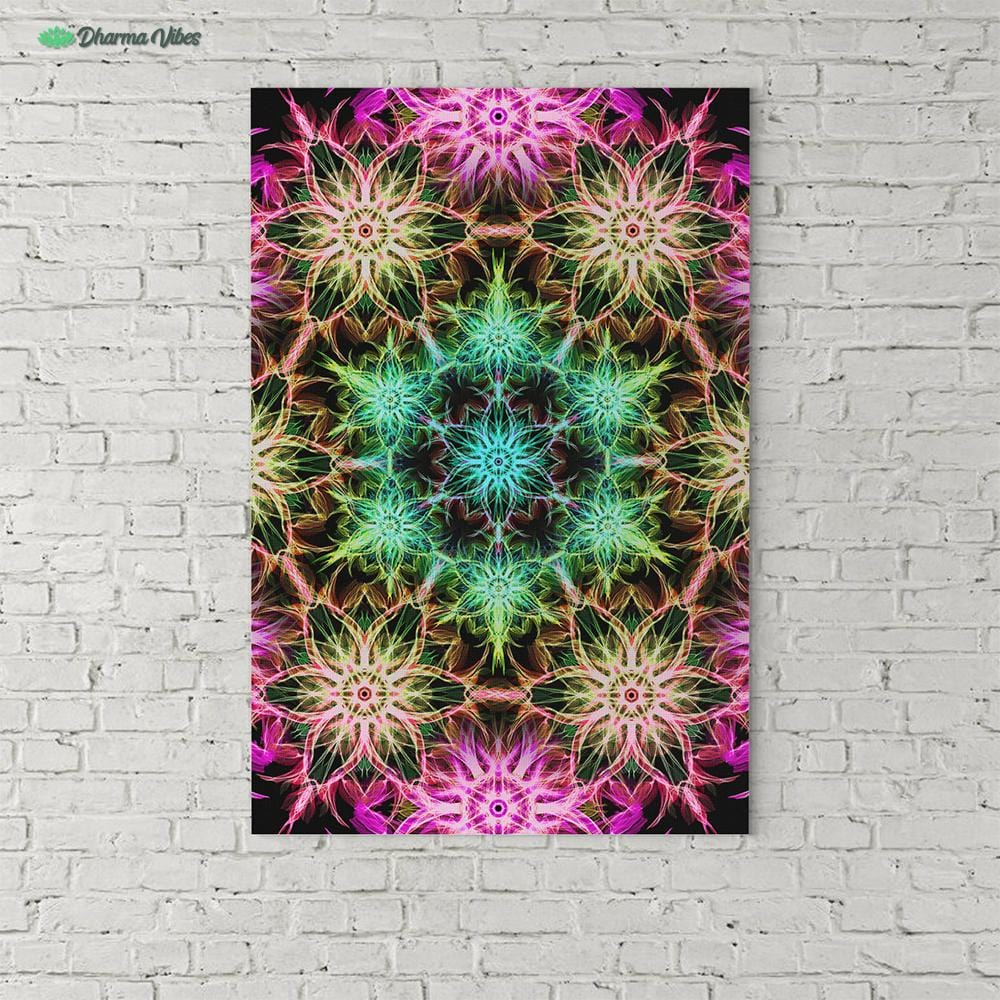 Tripped V2 by YantrArt Design 1-Piece Canvas