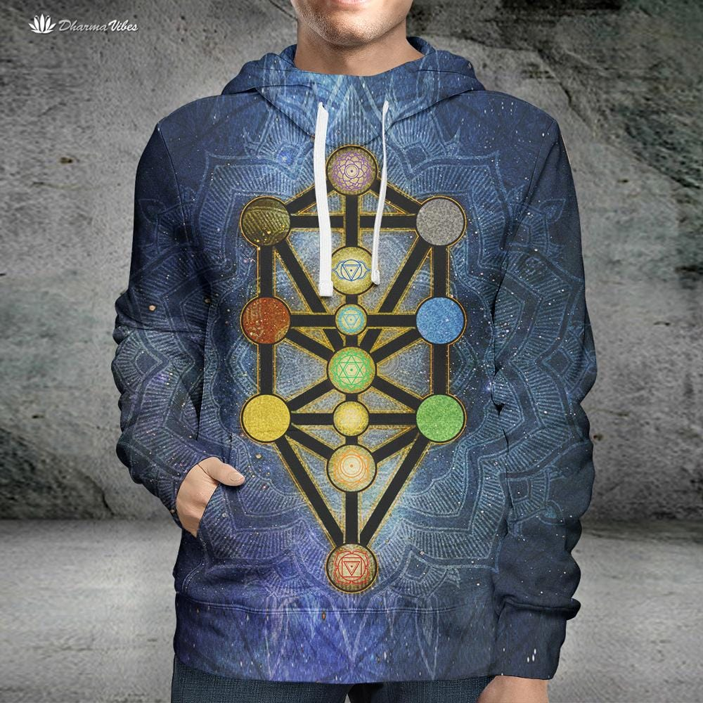 Tree of Life Kabbalah by McAshe Hoodie