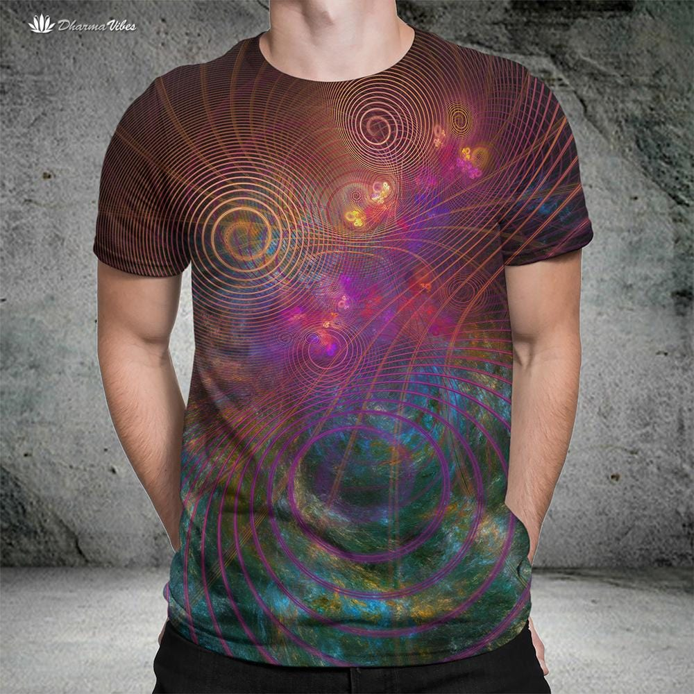 The Unfolding Cosmos by YantrArt Shirt