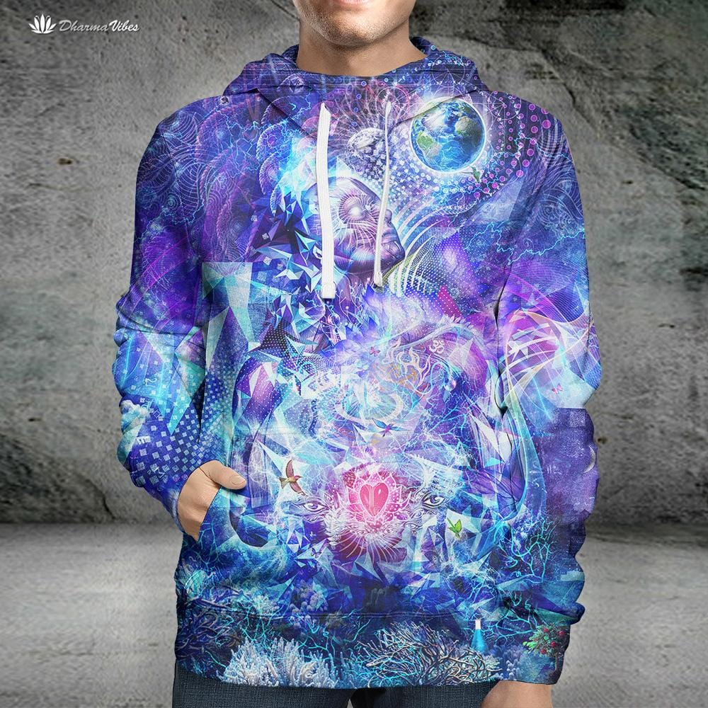 Transcension by Cameron Gray Visionary Hoodie
