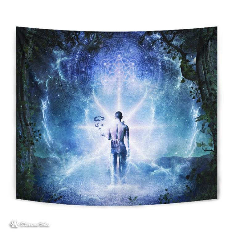 The Journey Begins by Cameron Gray Visionary Tapestry