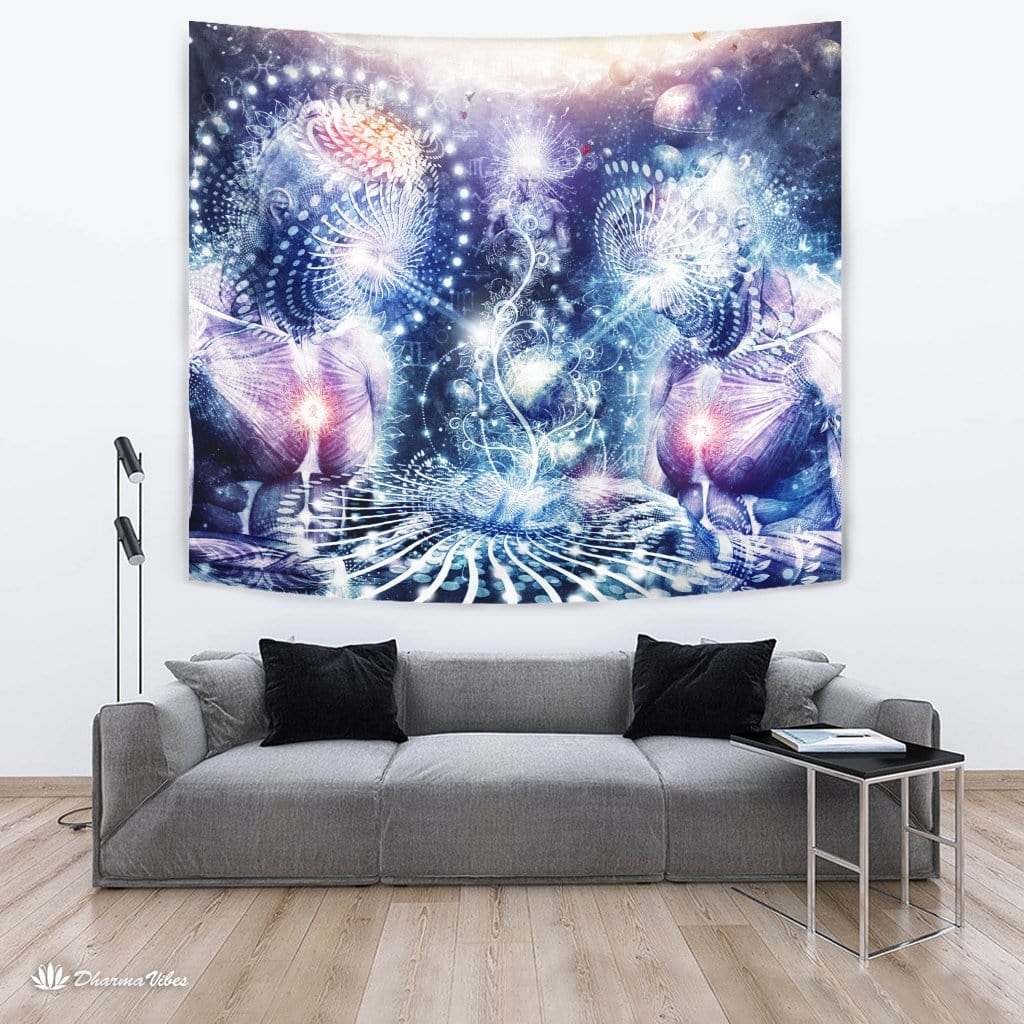 The Knowledge of the Planets by Cameron Gray Visionary Tapestry