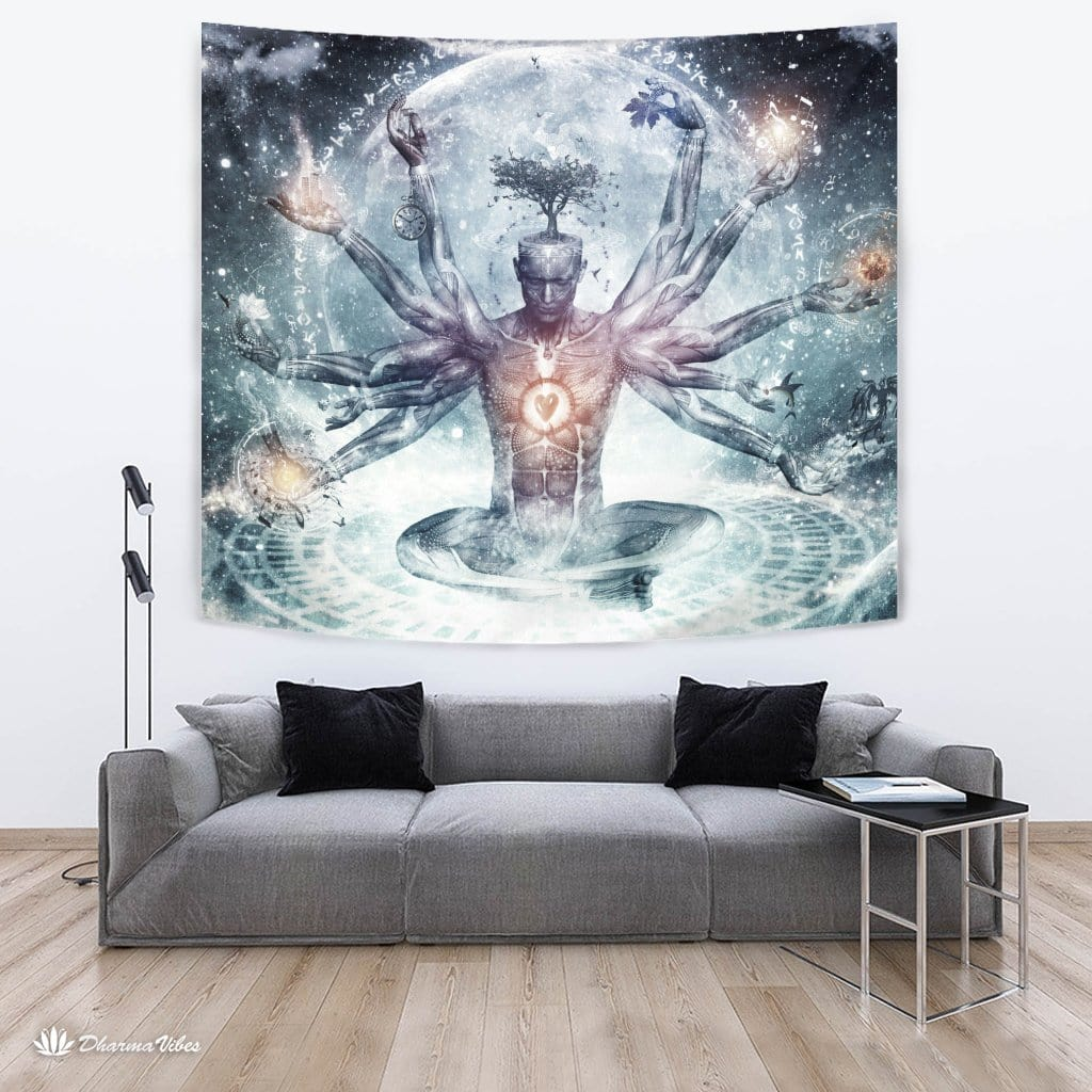 The Neverending Dreamer by Cameron Gray Visionary Tapestry