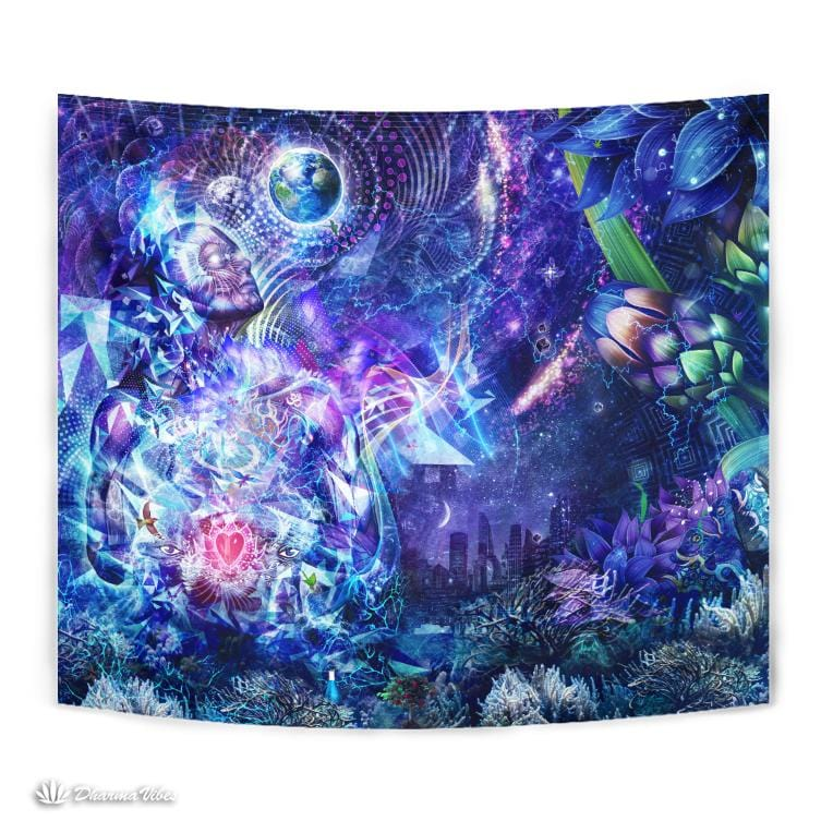 Transcension by Cameron Gray Visionary Tapestry