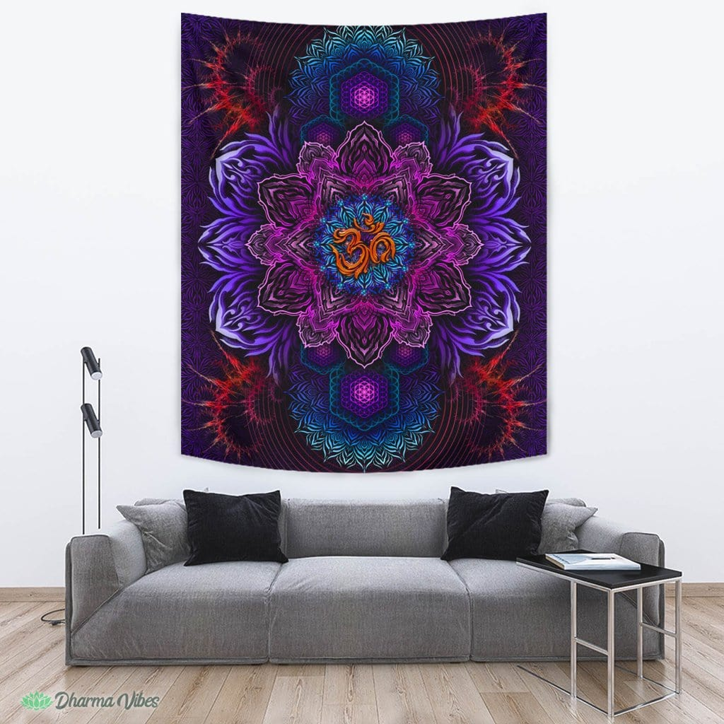 UNIVERSAL RESONANCE by YantrArt Design Tapestry (EXCLUSIVE!)