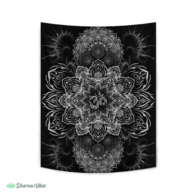 UNIVERSAL RESONANCE BW by YantrArt Design Tapestry
