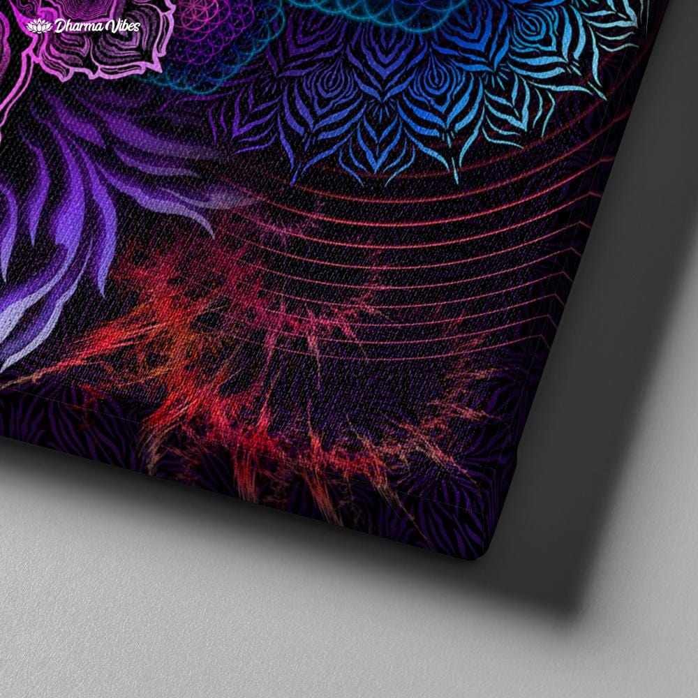 UNIVERSAL RESONANCE by YantrArt Design 1-Piece Canvas