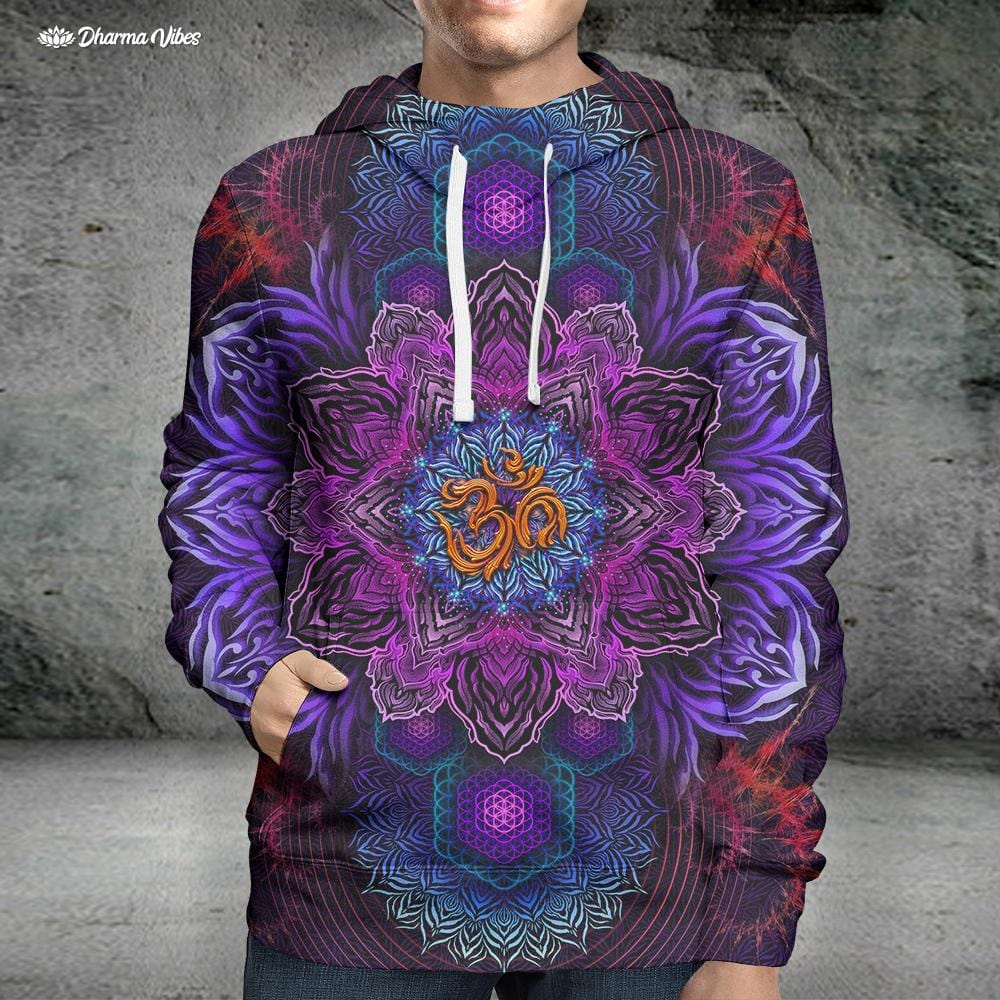 UNIVERSAL RESONANCE by YantrArt Design Hoodie